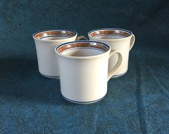 Vintage Salem Georgetown Cups, Set of 3