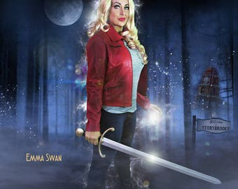 Emma Swan Once Upon A Time Costume Pre-Owned