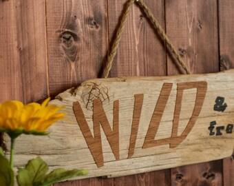 Driftwood Art, Driftwood Wall Hanging, Driftwood Decor