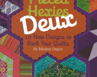 Pieced Hexies Deux:  English Paper Piecing.