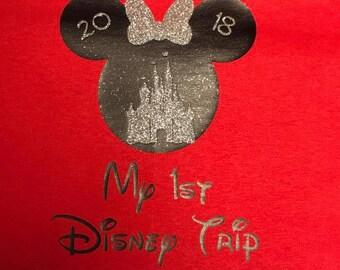 My First Disney Trip Mickey/Minnie Shirt