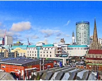 Birmingham Skyline Shade
