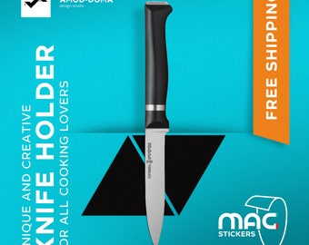 Unique Knife Holder - MAGstickers Triangle | Unique Gift for Kitchen | Gift for Mom | Gift for Women | Kitchen Decor | FREE SHIPPING |