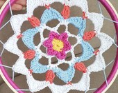 Crochet dream catcher, ma...