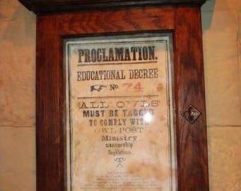 4 Harry Potter Educational Decrees