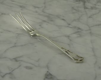 Antique Sterling Silver Lemon Fork (not monogrammed)