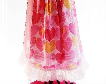 Chic Girl's Heart's Galore Boutique Pillowcase Dress-6mth-6