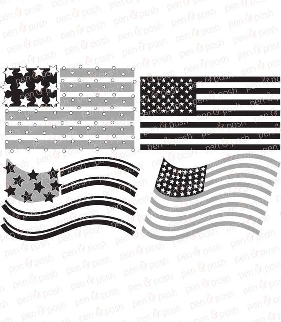 May The Fourth Be With You Svg: Flag SVG American Flag SVG Flag Dxf 4th Of July SVG