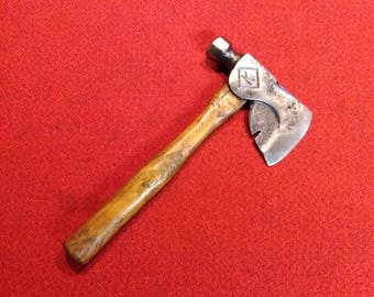 Antique Hatchet Old Timers Carpenters Timber Framing Tool
