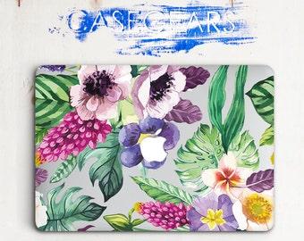 Fowers Macbook Pro Hard Case Florals Macbook Pro 13 Inch Case Pro Retina 15 Macbook Air 13 Inch Clear Laptop Case 12 Macbook Mac Air 11 Case