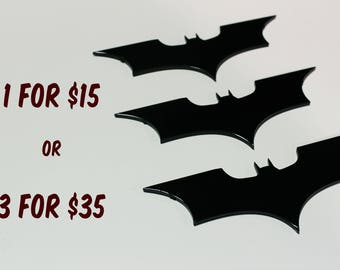 Steel Batarangs - throwable and precision cut