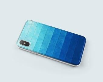 Geometric iPhone X Case Clear iPhone 7 Plus Case, iPhone 8 Case, iPhone 6 Case, iPhone 6S Case, Case for Iphone 7, Transparent Case - KT054