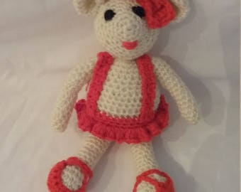 soft crocheted toys