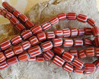 Nepalese chevron bead