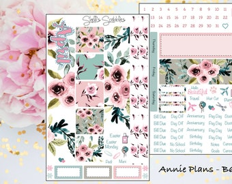 April Montly Kit - Annie Plans - B6