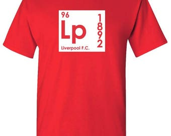 LIVERPOOL FC SHIRT - Periodic Table Inspired Shirt