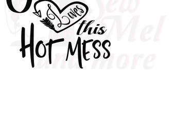 911+ Jesus Loves This Hot Mess Svg for Silhouette