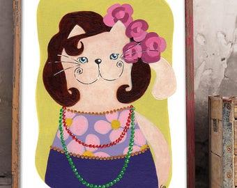 Cat from London | Print A5 | Sonja Kemp