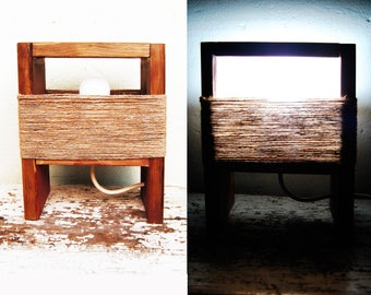 Wood lamp, Bedside lamp, Rustic bedroom decor, Wooden table lamp, Bedside lamp pair, Wooden night light, Reclaimed wood lamp, Farmhouse lamp