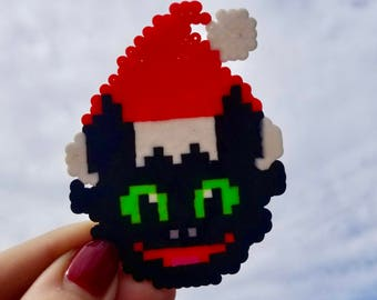 Christmas Dragon - Christmas Dragon Ornament - Toothless - Toothless Ornament - Toothless Keychain - Toothless Magnet - Dragon Keychain