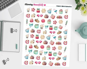 Printable Planner Stickers, Printable Stickers, Erin Condren Printable Planner Stickers, Erin Condren Printable Stickers, Christmas Stickers