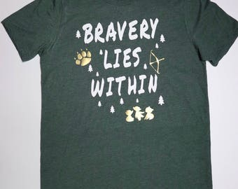 Bravery Lies Within T-shirt