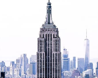 Empire State Building - New York - Fine Art Photography Print - New York Photography - Travel - New York Print - Empire State Building Print