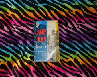James Dean: A Biography by William Bast (1956, Paperback Book)