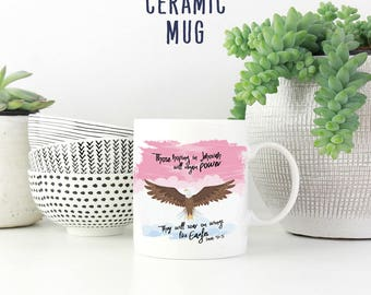 Those Hoping In Jehovah Will Regain Power Mug | JW Mug | Jw Gift | Jehovah's Witnesses | Pioneer Gifts | JW | JW Printables