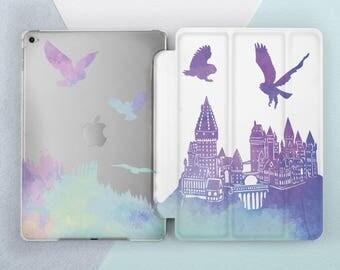 Harry Potter iPad case Hogwarts iPad pro 9 7 case iPad pro 10 5 case iPad pro 12 9 case Owls iPad 5th gen case iPad mini 4 iPad air 2 case