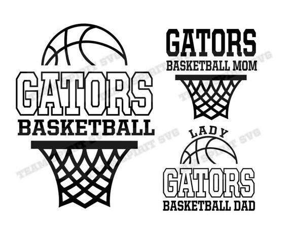 Gators Basketball Net Download Files SVG DXF EPS