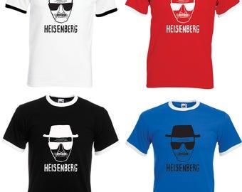 Breaking Bad Heisenberg  Adult Ringer T-Shirt - All Sizes & Colours