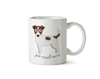 Jack Russell Terrier Mug (girl)