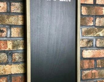 To Do List Chalkboard/Chalkboard/Framed Chalkboard/Kitchen Chalkboard/Farmhouse Chalkboard/Rustic Chalkboard/Chalk Board/To Do List Board
