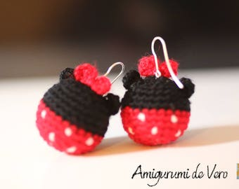Minnie Mouse Earrings