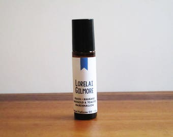 LORELAI GILMORE / Peach Rhubarb Marigold & Toasted Marshmallow / TV Inspired / Gilmore Girls Collection / Roll-On Perfume Oil