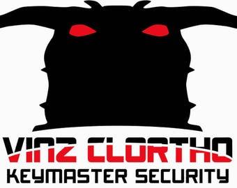 Ghostbusters Sticker, Zuul Sticker, Ghostbusters, Vinz Clortho, Keymaster, Gatekeeper, Security, Ghosts, Slimer, Peter Venkman, Sticker