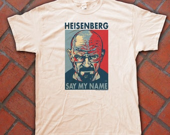 "HEISENBERG ""HOPE"" style T-shirts - pre shrunk 100% Cotton short sleeve t-shirt - Breaking Bad - Walter White"