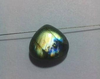 Labradorite 15 MM Smooth Driiled  Briolette