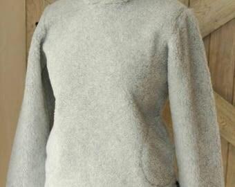 Hoodie   warm sweater   hooded sweater   wool hoodie