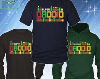 Funny Dad Shirt, Super Daddio Shirt, Funny Dad T-shirt, Father's Day Shirt, Father Gift Idea, Super Dad Shirt, New Dad Shirt, 22001