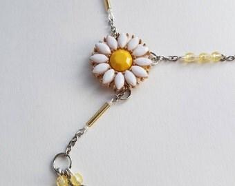Daisy Adjustable Y Necklace