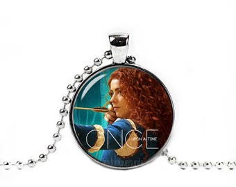 Merida Necklace Merida Pendant Once upon a time Fandom Jewelry Fangirl Fanboy