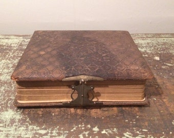 Antique Photo Album 1890-1920