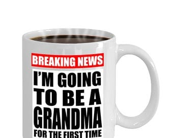 Grandma Pregnancy Announcement Funny Gift Mug