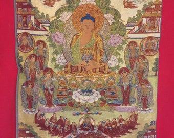 Another, beautiful Buddha tapestry, Bodhisatta