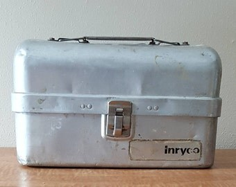 Aluminum Lunch Box Lunch Pail Made in Kewaunee WI
