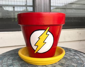 DC Flash Flower Pot