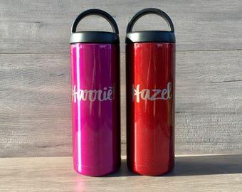Powder Coated RTIC 18 oz. Bottle - Stainless Steel Water Bottle - Laser Engraved RTIC Bottle - Custom Gifts