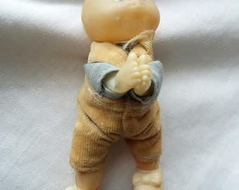 Vintage Cabbage Patch Kid Preemie - Boy Squeeze Clamp Hands